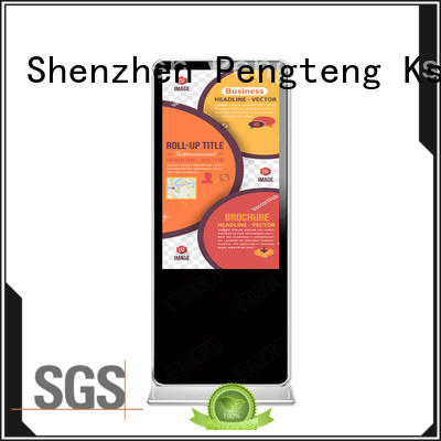 PTKSAI pc digital signage kiosk with led panel for advertising