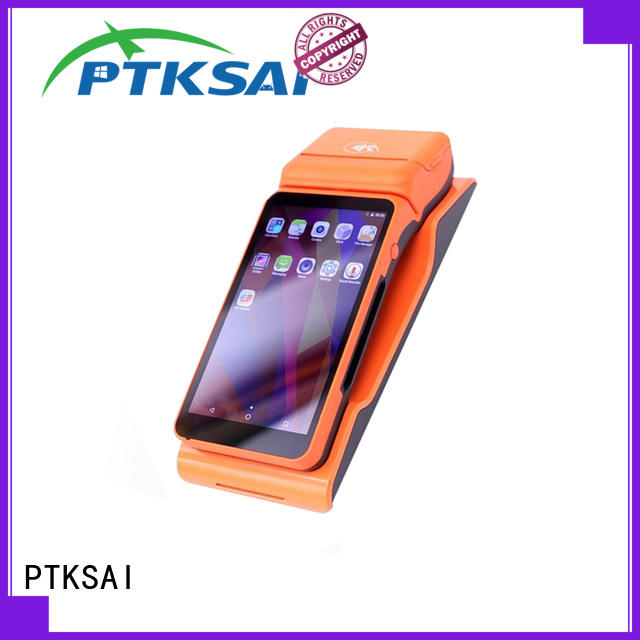 ksl mobile pos android with smart card reader for payment