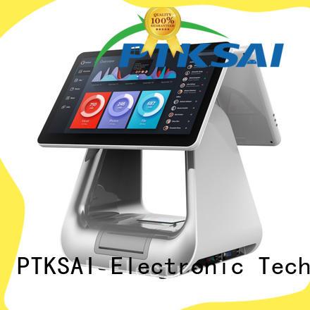 PTKSAI black cheap pos machine ksa for self service