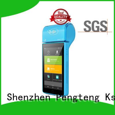 emv machine mobile pos system inch PTKSAI Brand