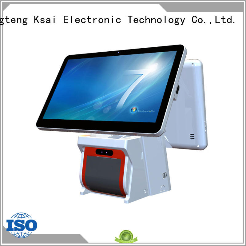 windows all in one touch pos terminal epos system for restaurants PTKSAI