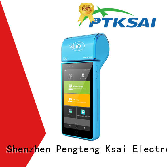 fanless mobile pos system with smart card reader for payment