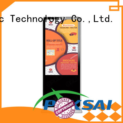 PTKSAI led digital signage all in one for self service
