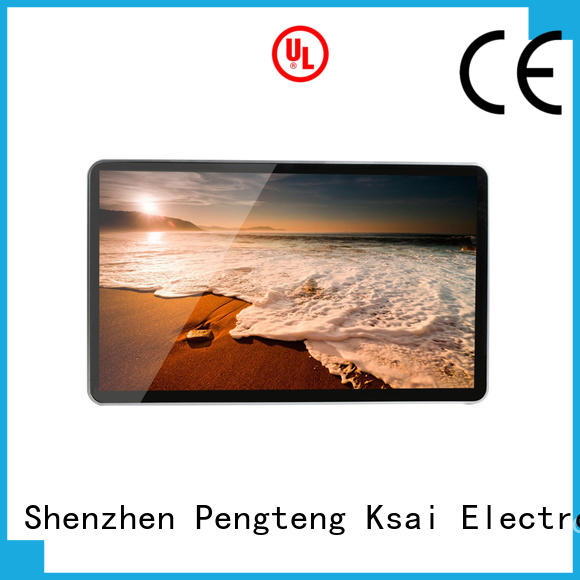 advertising commercial digital signage with camera for advertising PTKSAI