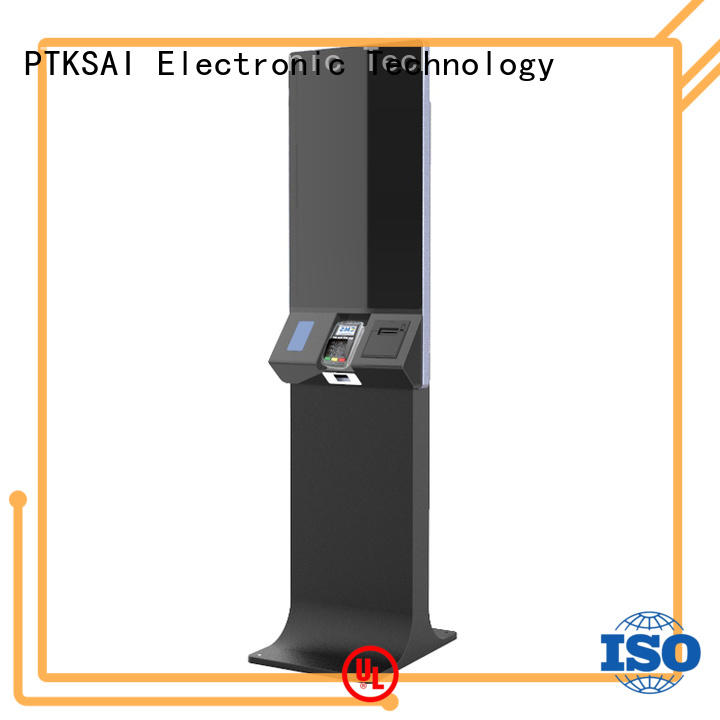 PTKSAI kiosk pos with barcode scanner for sale