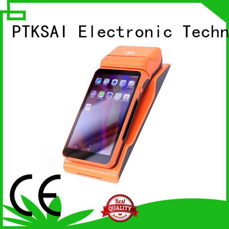 portable mobile pos system with printer for payment