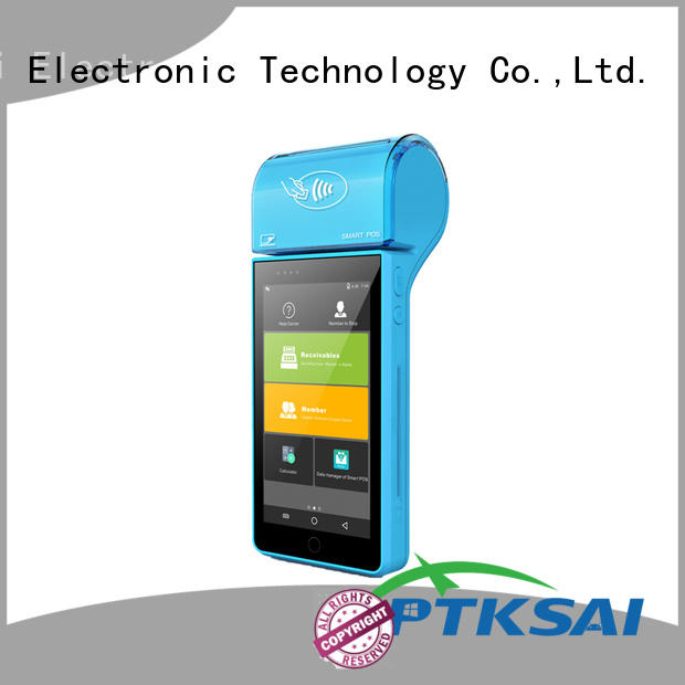 PTKSAI fast mobile pos machine ksc for payment