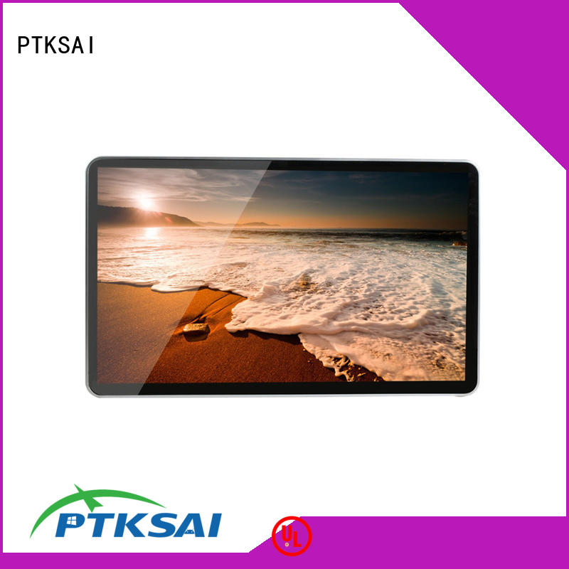PTKSAI portrait commercial digital signage displays with wifi for advertising