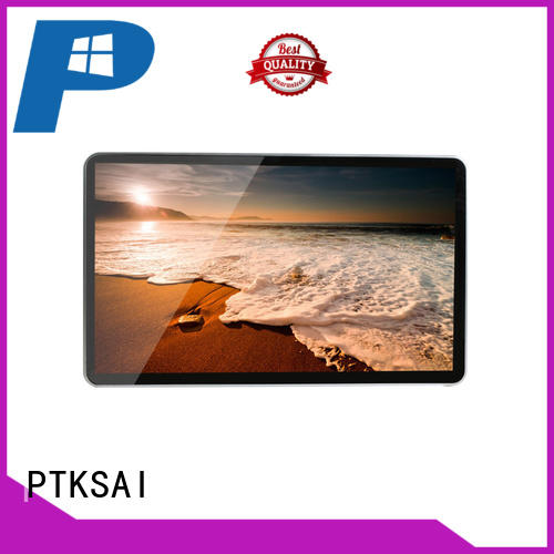 PTKSAI windows digital signage with camera for advertising