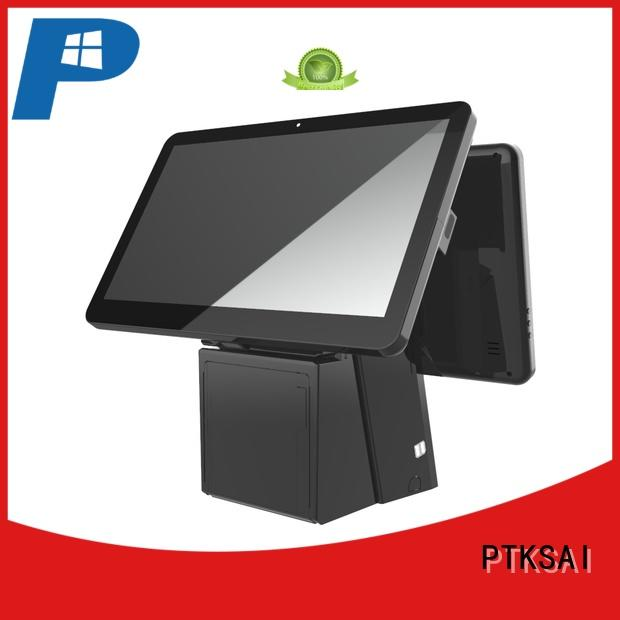 all in one pos without auto cutter for self service PTKSAI