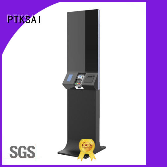 PTKSAI high quality information kiosk with camera for self service