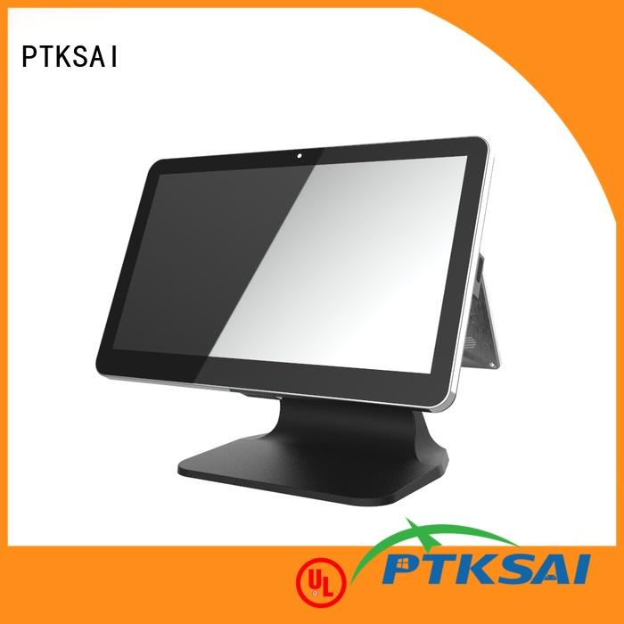 PTKSAI android best mobile pos with customer display for payment
