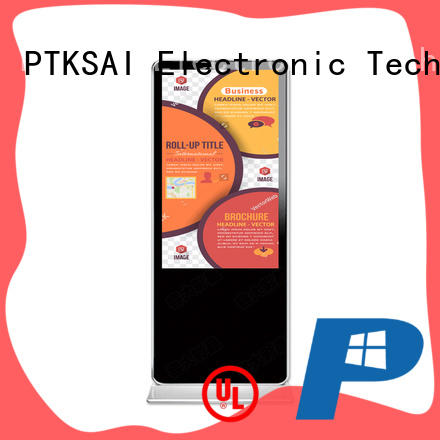 PTKSAI durable android digital signage with camera bulk production