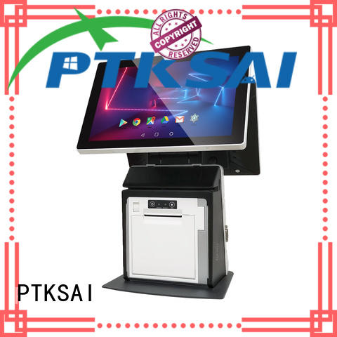PTKSAI fashion pos system cash register without auto cutter for restaurants