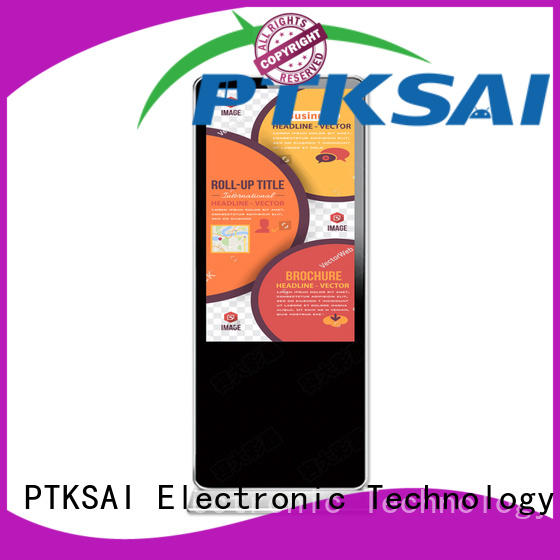 interactive digital signage screens with led panel for self service