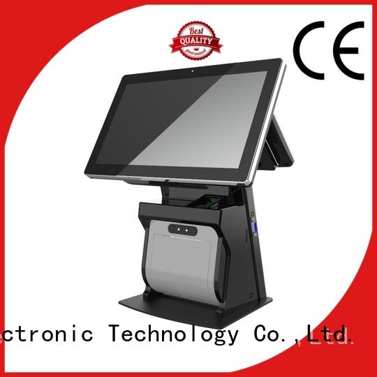 PTKSAI all-in-one pos with thermal printer for restaurants