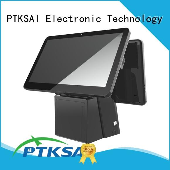 high end retail pos machine without auto cutter for payment PTKSAI