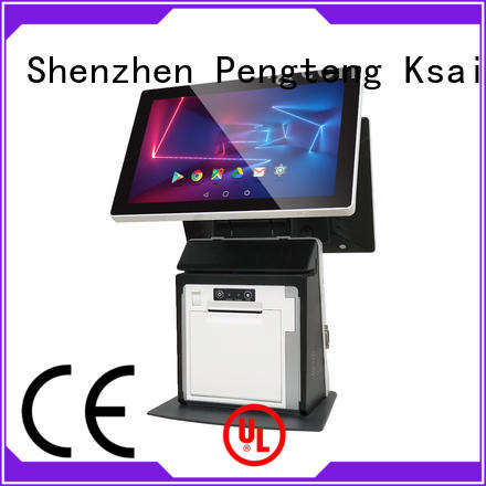 PTKSAI self service pos terminal machine manufacturer for hotel