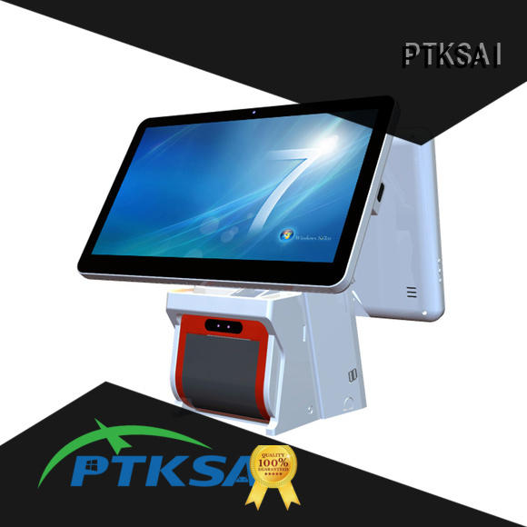 all in one touchscreen pos terminal for restaurants PTKSAI