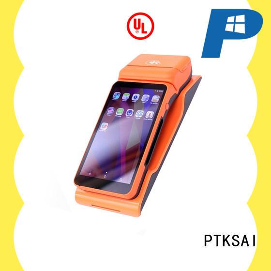 PTKSAI mobile pos machine with customer display for small business
