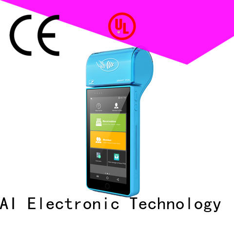handheld mobile pos devices with printer for payment PTKSAI