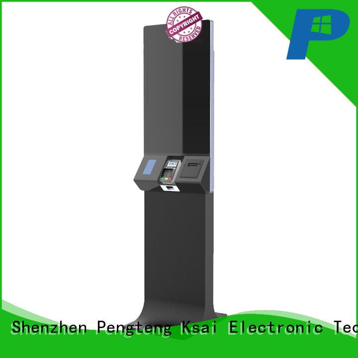 inch ticketing kiosk with receipt printer for sale