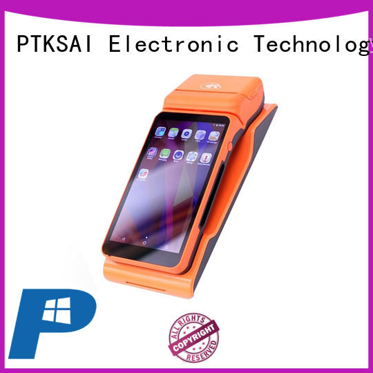 PTKSAI food mobile pos system with smart card reader for small business