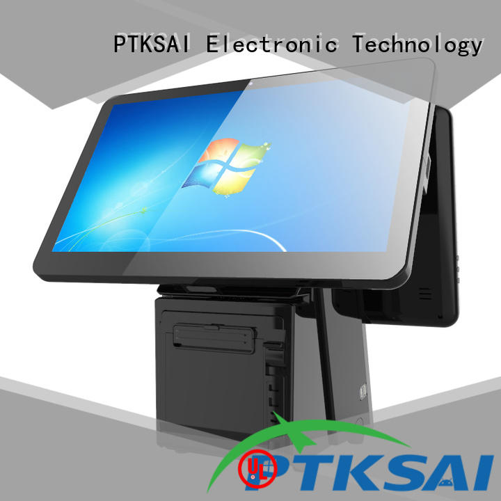PTKSAI touch screen cash register best supplier for payment
