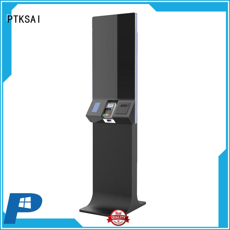 PTKSAI hotel self check in kiosk company for business