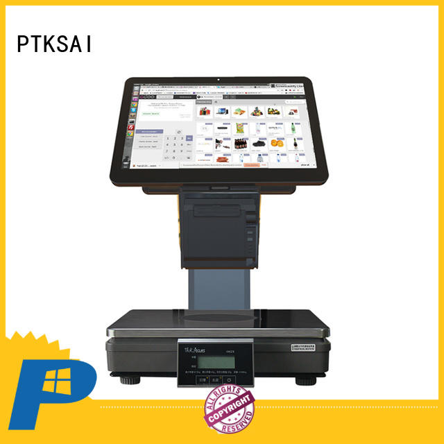 all in one pos customer display with receipt printer for promotion