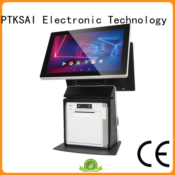 PTKSAI mobile pos machine with printer for payment