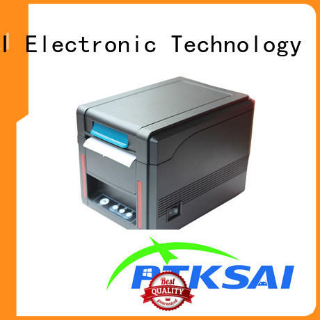 ESC/POS & STAR Character Set Front Loading Direct Thermal 80mm Kitchen Receipt Printer KS-PR01 LAN/USB/Serial Port
