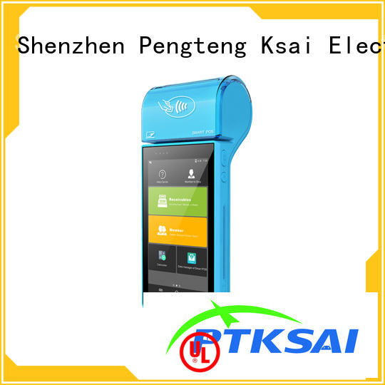 PTKSAI fast portable pos system with smart card reader for payment